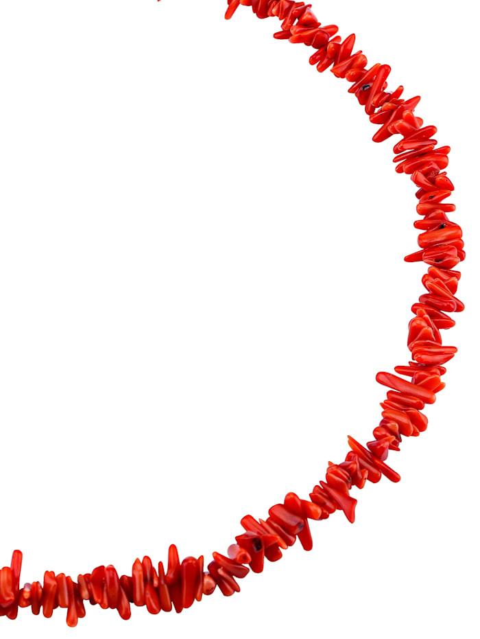 KLiNGEL Bloedkoraalketting (beh.), Rood
