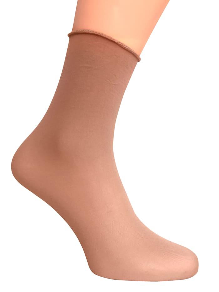 Janastyle Lollipop-Socken, Beige