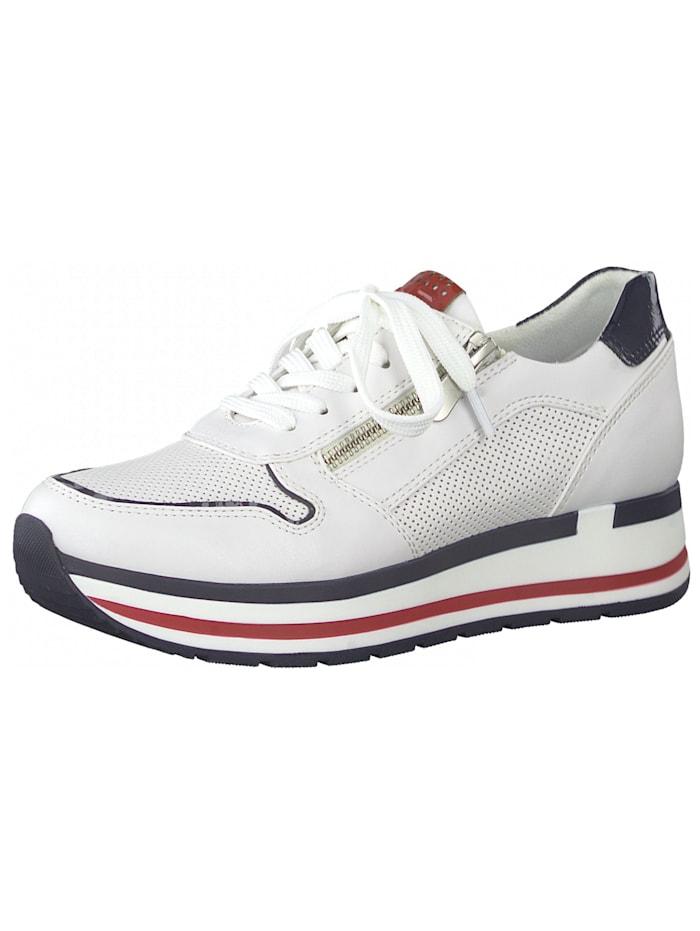 Marco Tozzi Marco Tozzi Sneaker, Weiß/Navy