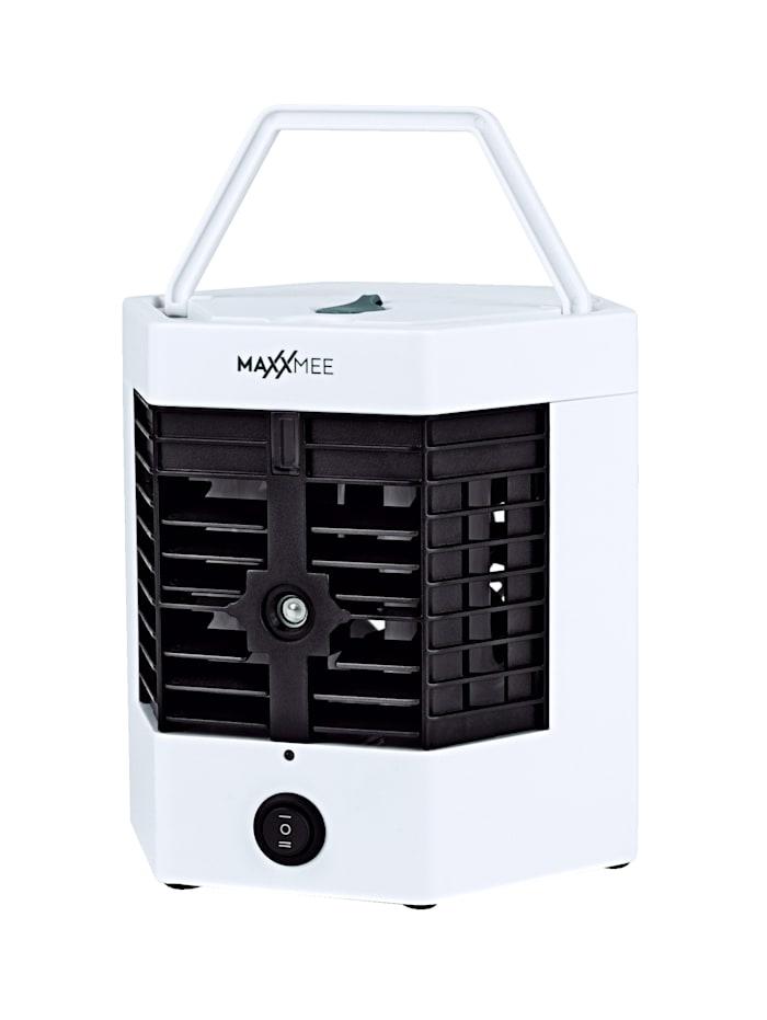 MAXXMEE Refroidisseur d'air 2 en 1 avec fonction d'humidification, Noir/blanc