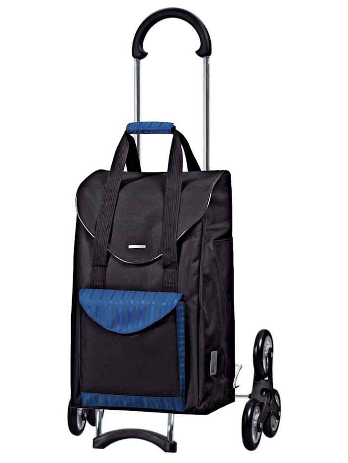 Andersen Shoppingväska med löstagbar ställning, blå