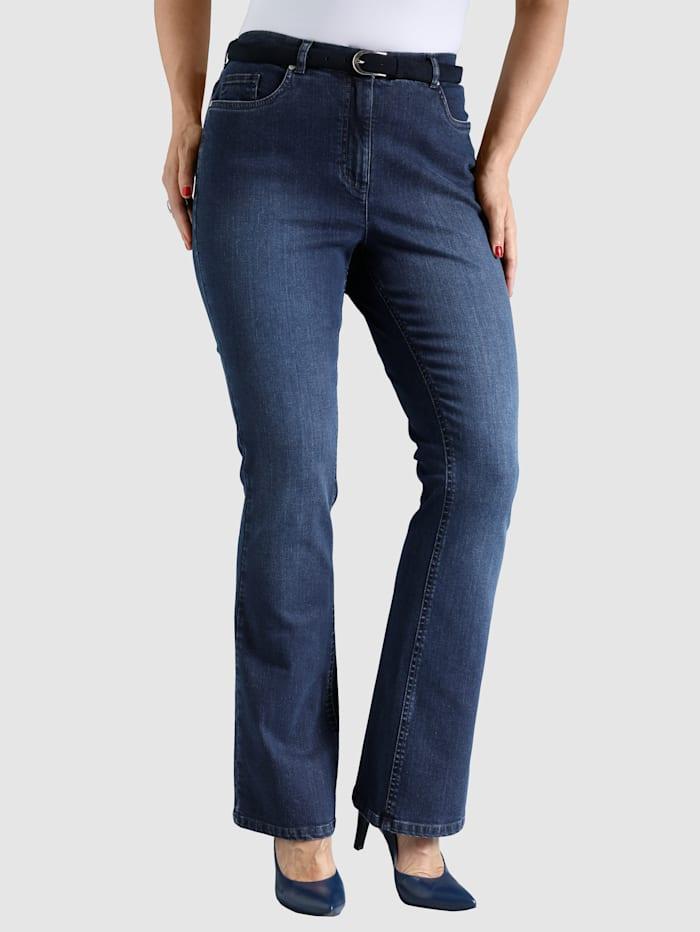Jean bootcut de style 5 poches