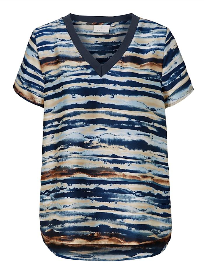 Kaffe T-Shirt, Blau