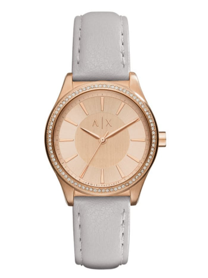 Armani Exchange Damenuhr AX5444, Rosé