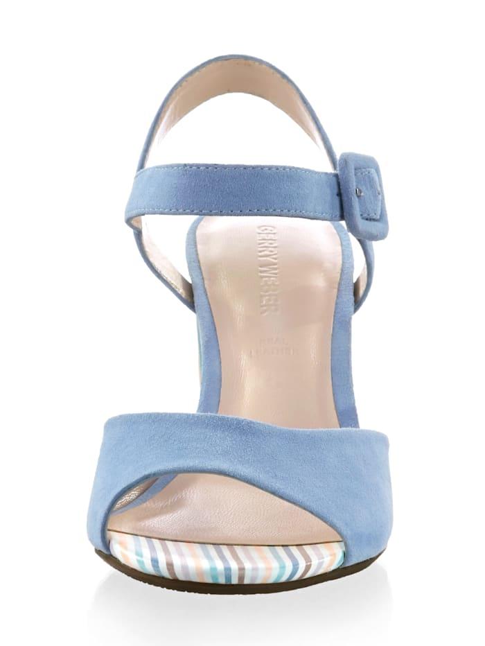 Sandalette mit Hingucker-Absatz