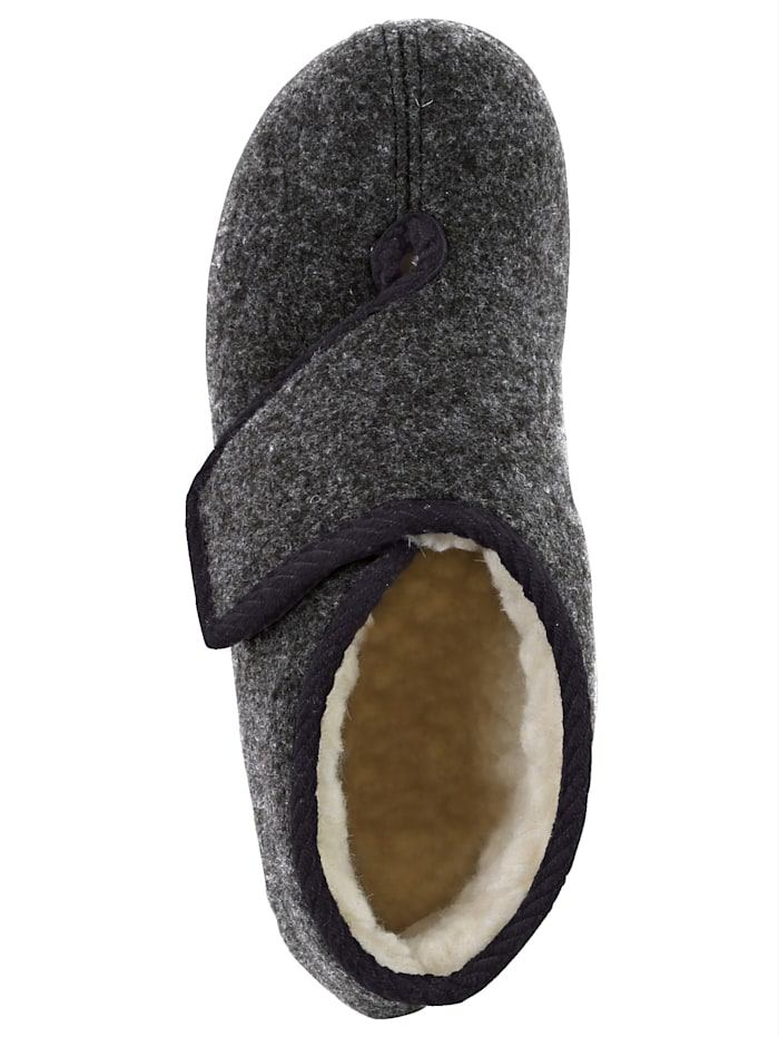 Herren-Hausstiefel mit wärmender Schurwolle