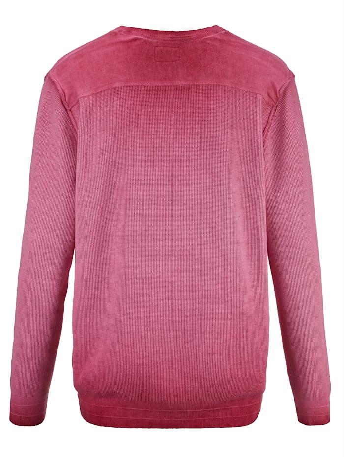 Pullover in modischer Used-Optik