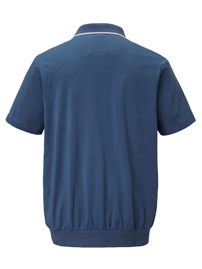 Poloshirt met rits