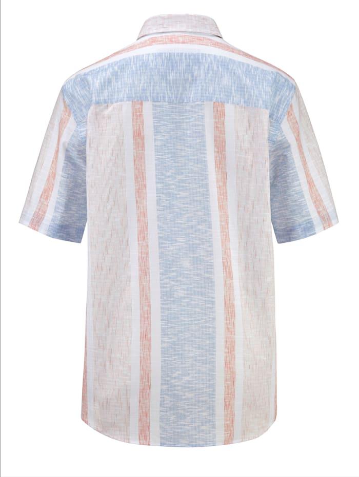 Hemd mit modischem Streifenmuster