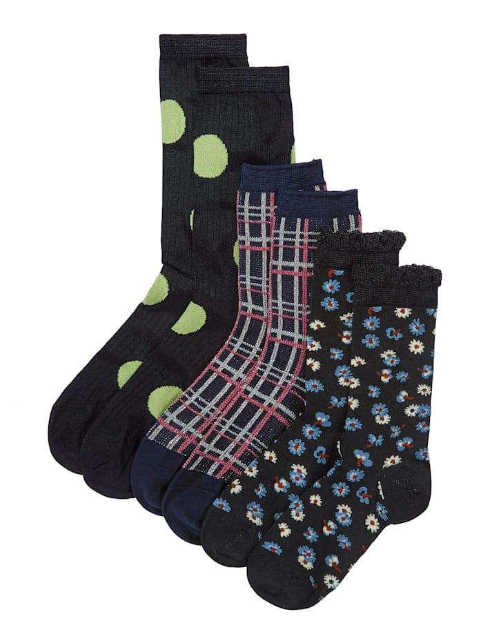 Becksöndergaard Socken-Set, 2-tlg., Multicolor
