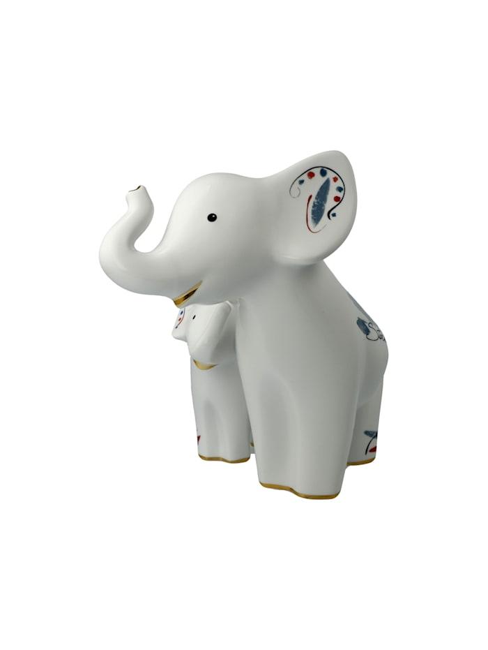"Goebel Figur Elephant - ""Larro e Emoli"""