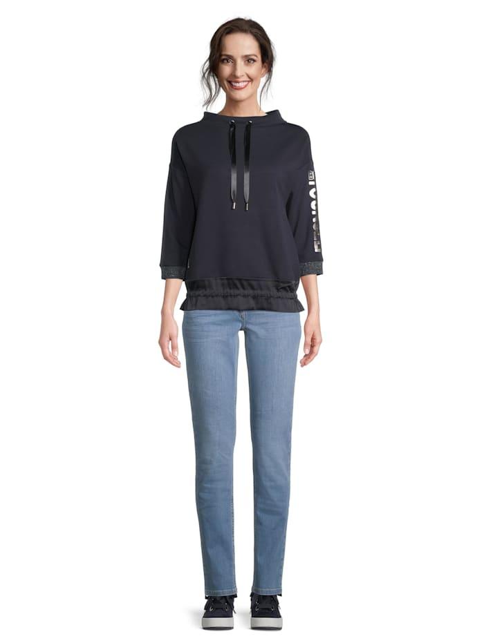 Betty Barclay Sweatshirt mit Tunnelzug, dunkelblau