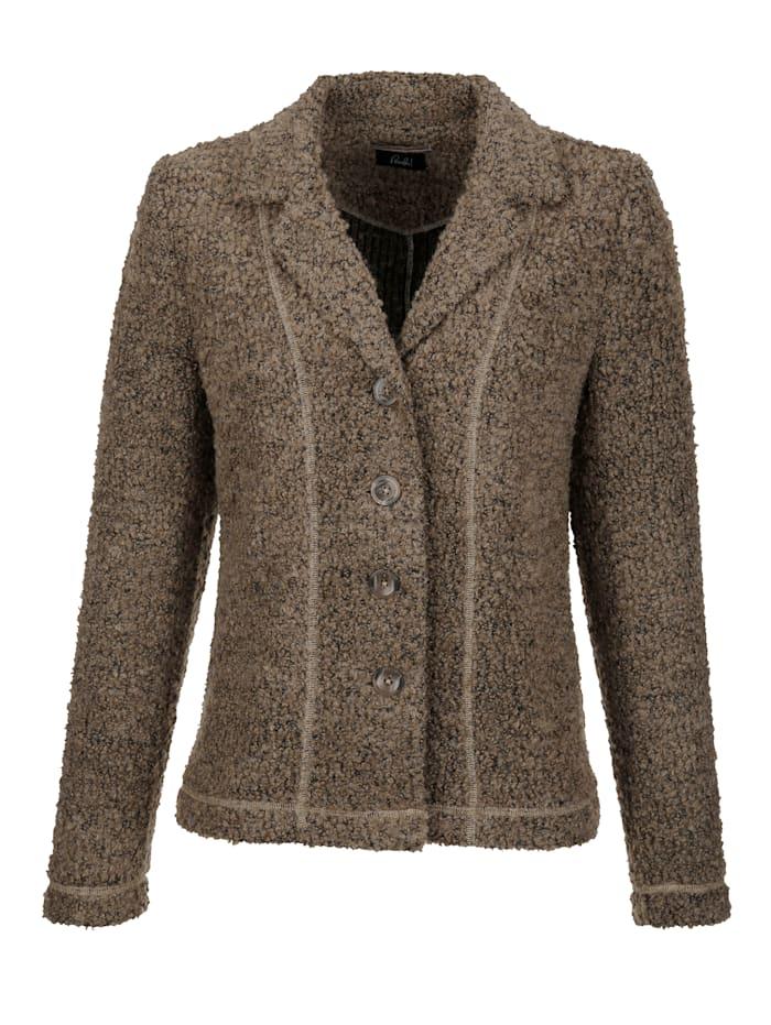 Pletené sako v buklé kvalite