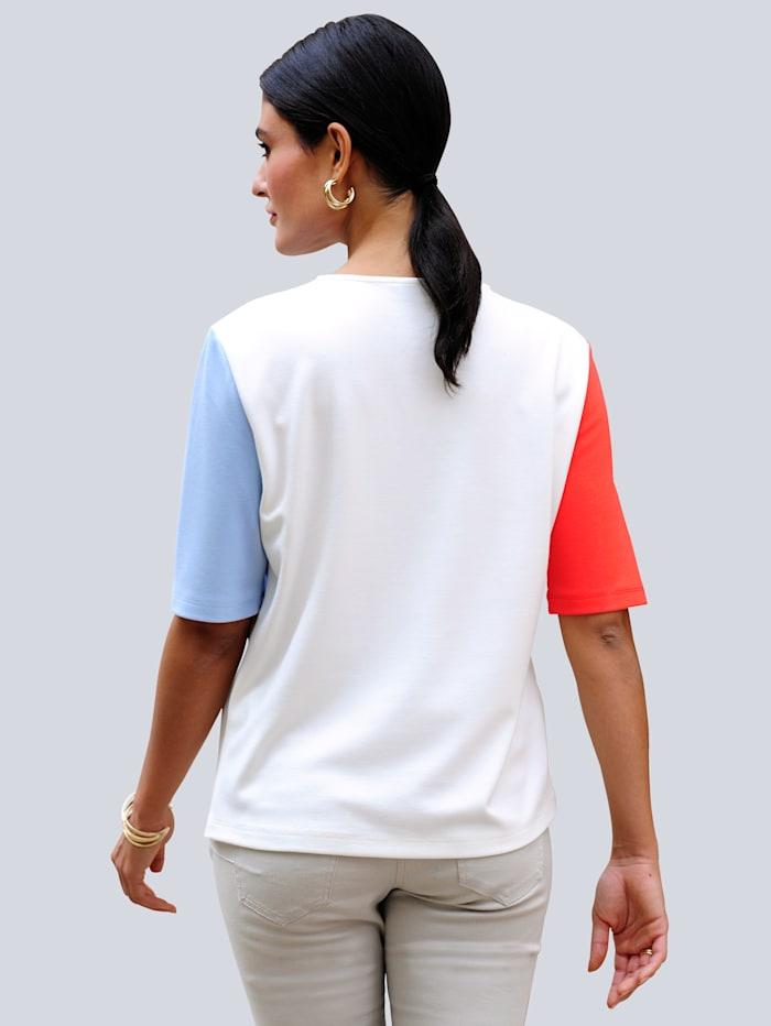 Shirt in modischer Patch-Optik