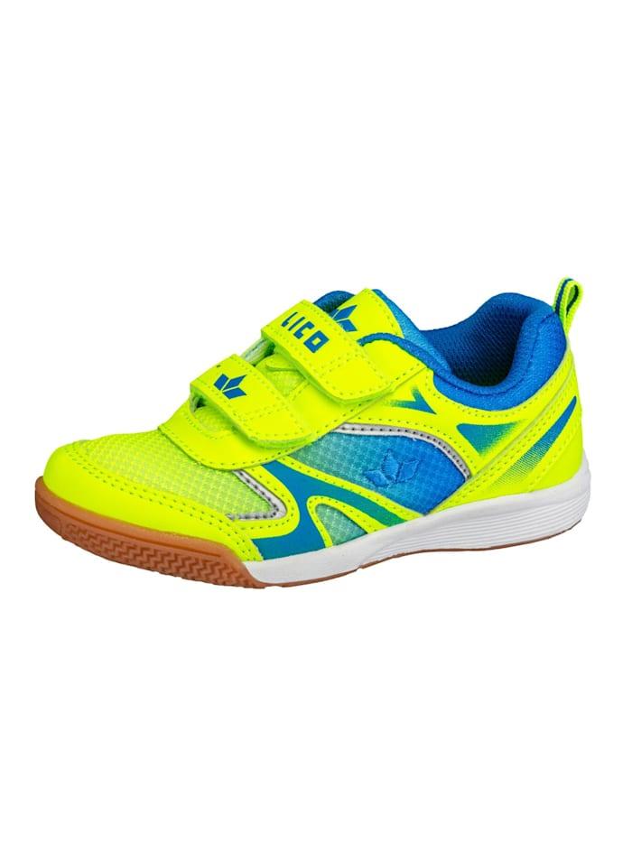 Lico Sportschuh, lemon/blau