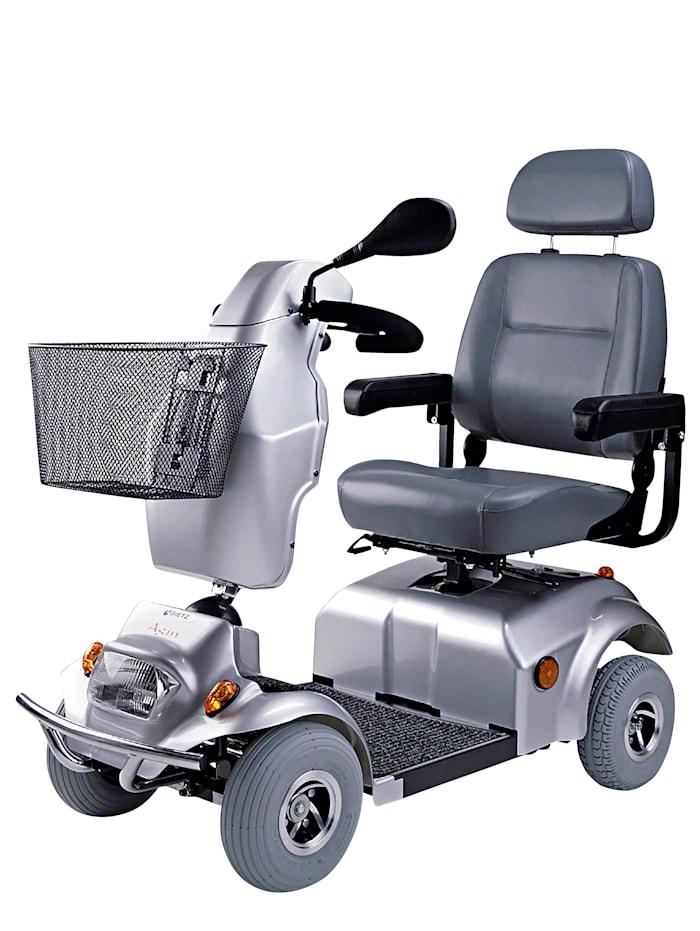 Dietz Elektro-Scooter 6 km/h (Reichweite ca. 35km), silber