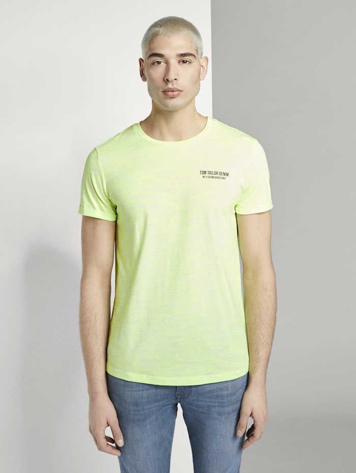 T-Shirt mit schlichtem Print