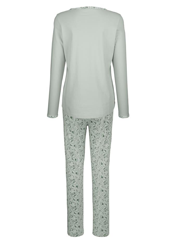 Pyjama avec poche poitrine