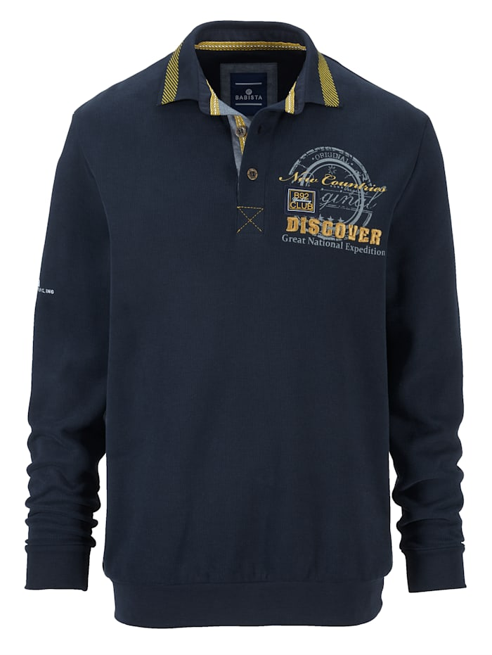 Sweatshirt mit sehr weicher Oberfläche