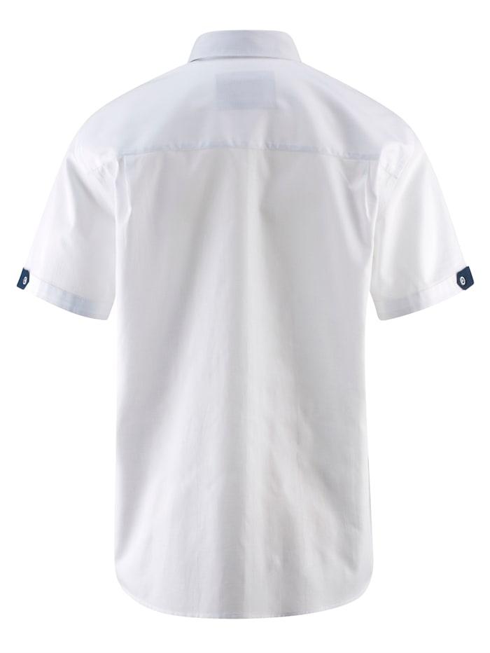 Overhemd met fijne structuur
