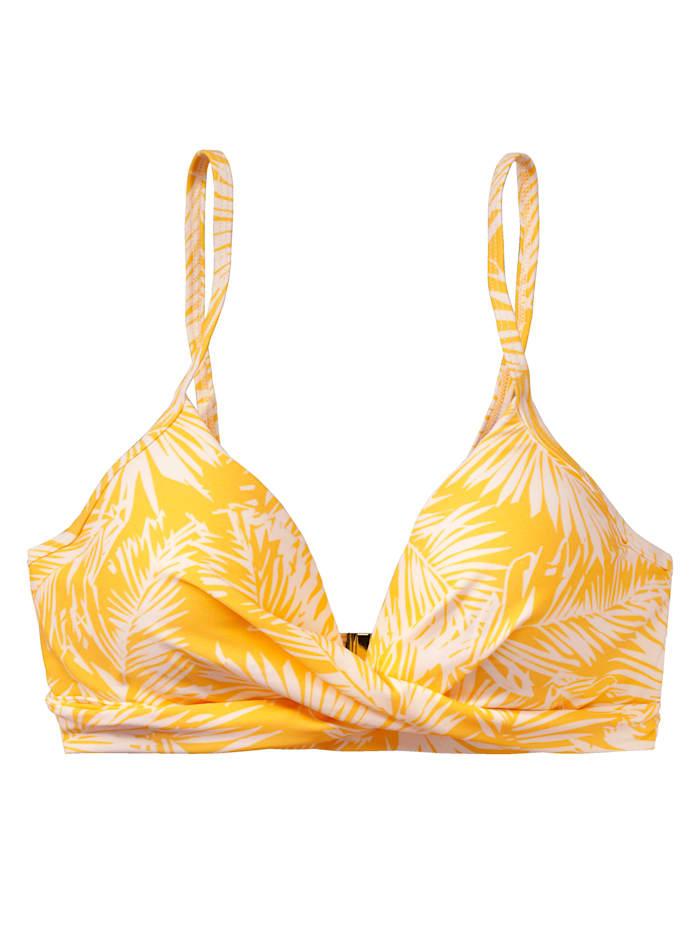 BEACHLIFE Bikini-Top, Gelb