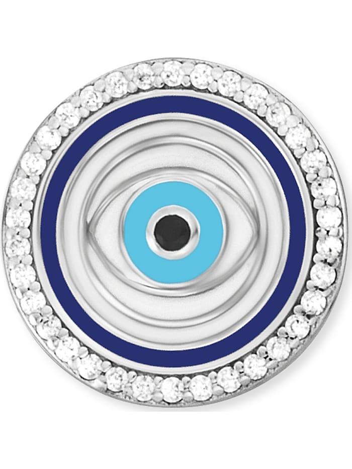 Engelsrufer Damen-Ohrstecker Ohrstecker Lucky Eye 925er Silber Zirkonia