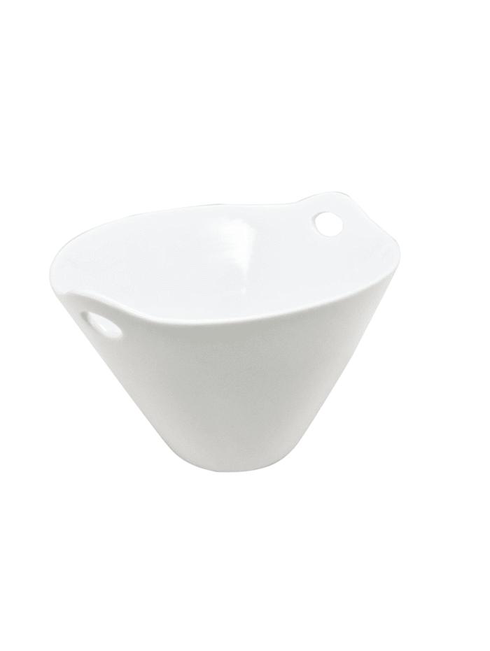 Neuetischkultur Schale oval, Weiß