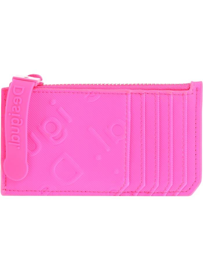 Desigual Colorama Kreditkartenetui 13 cm, rosa fluor
