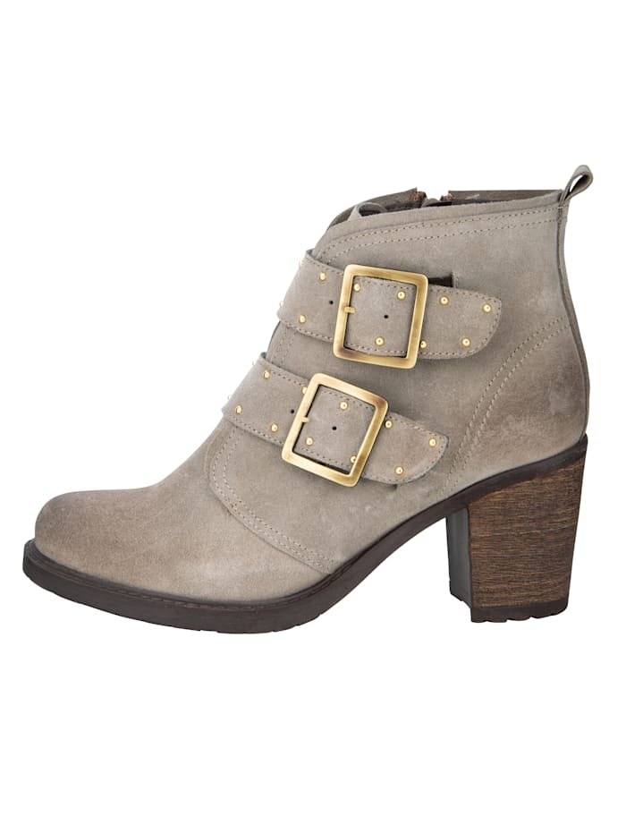 Stiefelette in dezenter Used-Optik