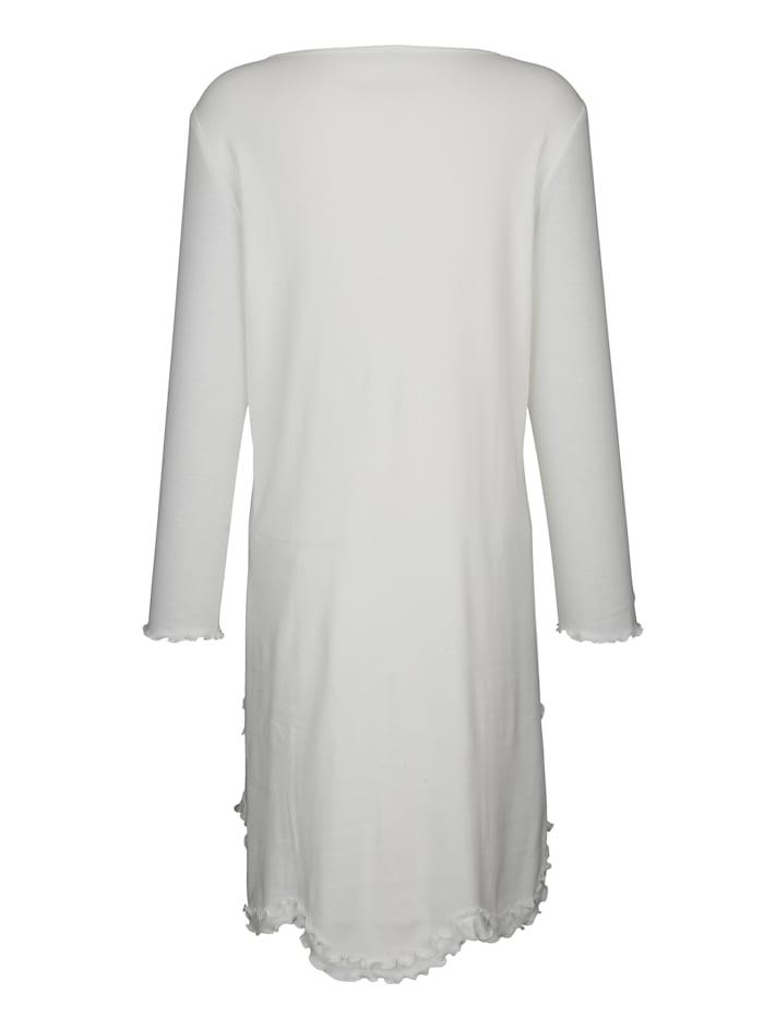 Nightdress with a gorgeous scallop hem