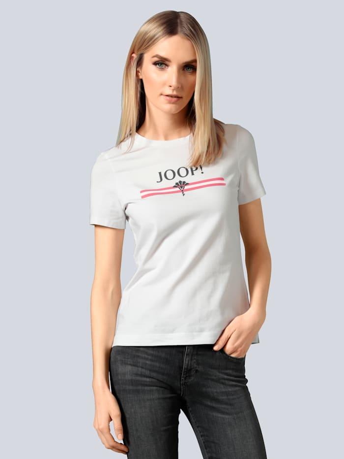 JOOP! T-Shirt mit Logomotiv, Weiß