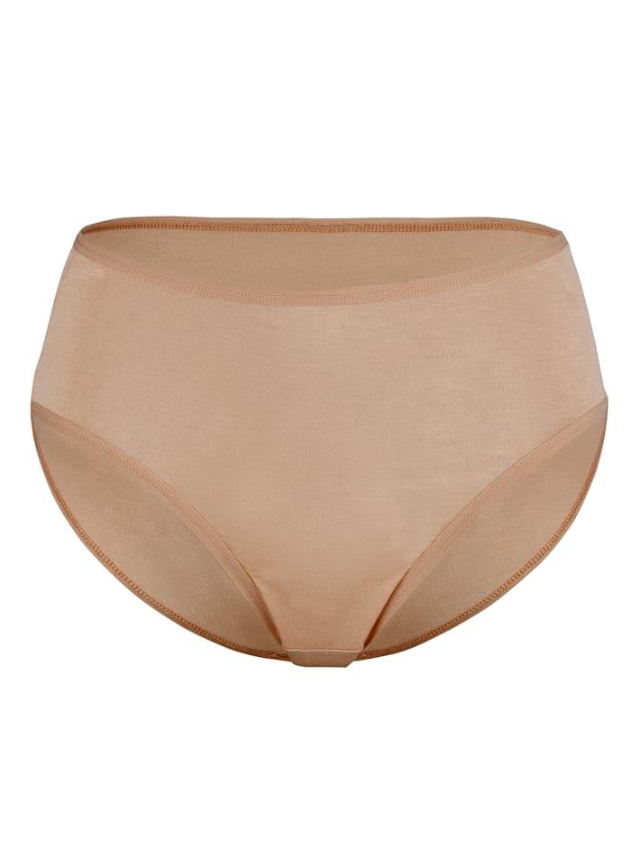 Culottes taille haute en viscose fluide et douce