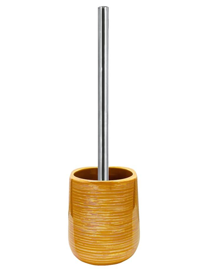 Kleine Wolke WC-børsteholder -Argentic-, gullfarget