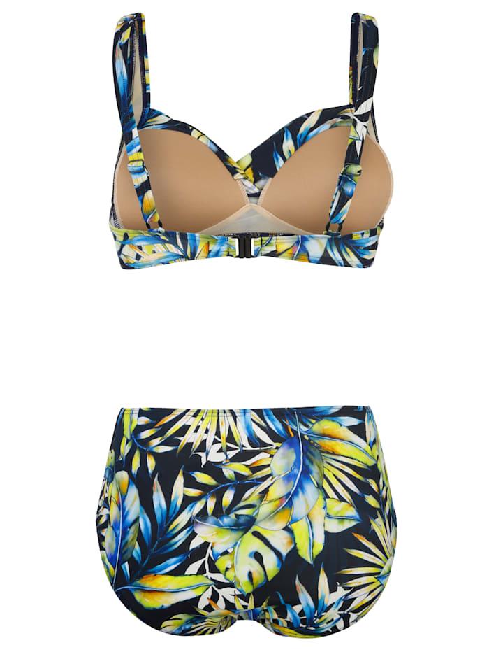 Bikini med omlottdesign