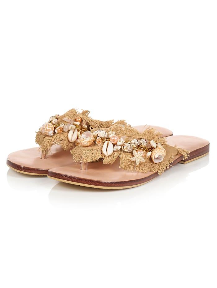 Salty Skin Sandale, Sonnengelb