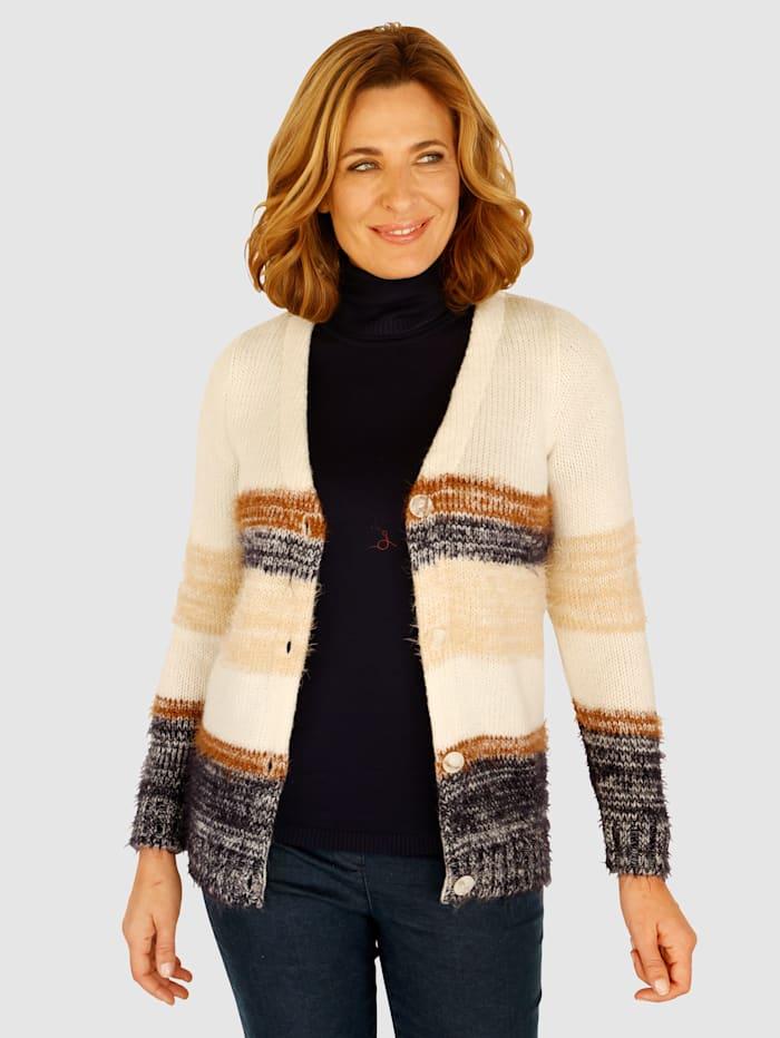 Paola Sveter so skvelým prelínaním farieb, Prírodná biela