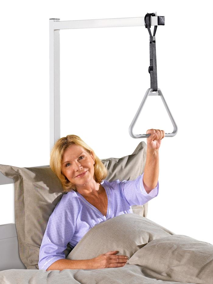 Závěsná hrazda k posteli