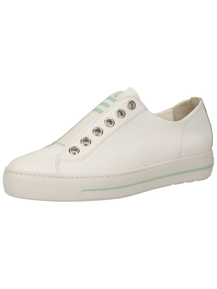 Paul Green Paul Green Sneaker, Weiß/Grün