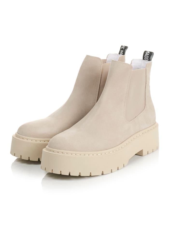 Steve Madden Chelsea-Boots, Beige