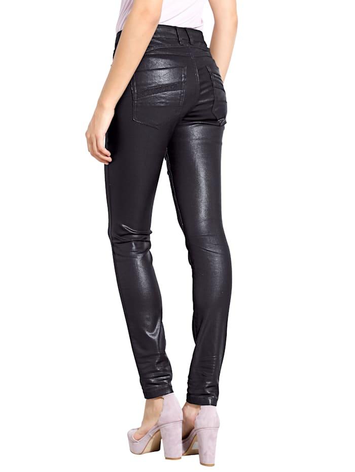 Jeans met hoogwaardige details