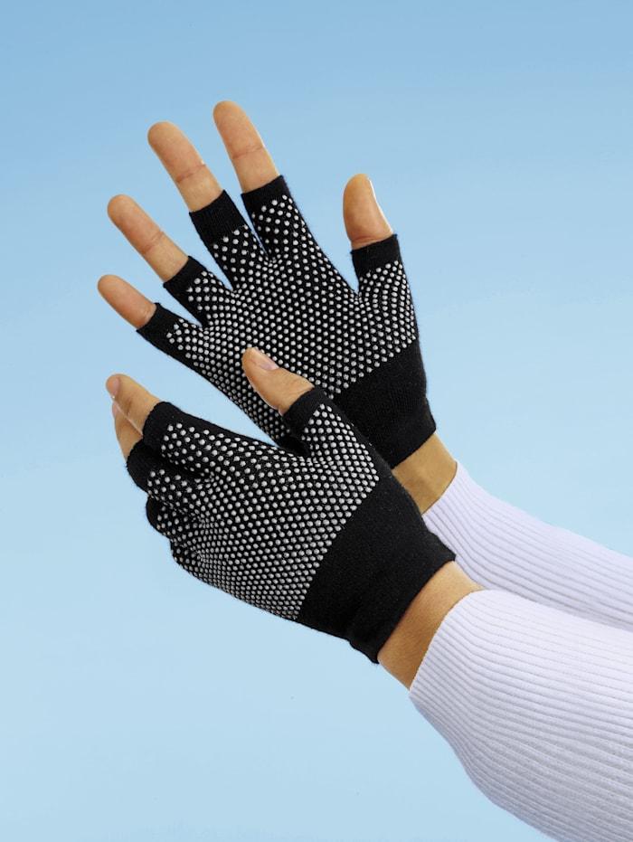Handschoenen 1 paar, Marine/Wit