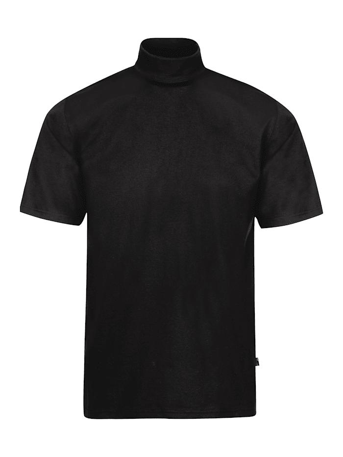 Herren T-Shirt mit Stehkragen