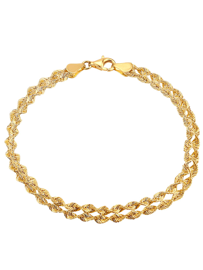 Armband 2-reihig, Gelb