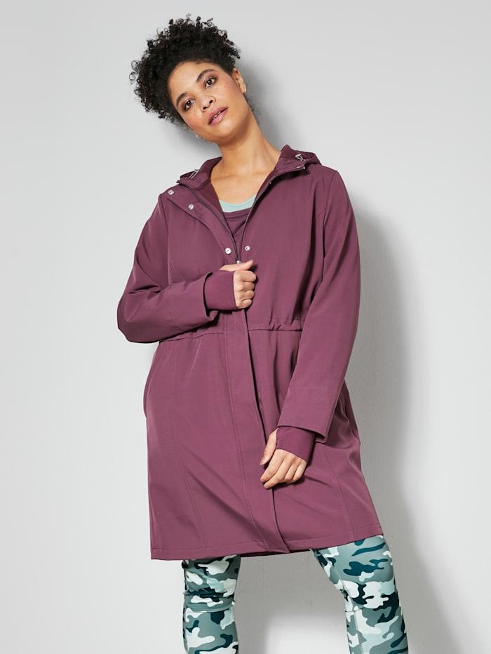 Janet & Joyce Softshell jas voor outdoor, Mauve