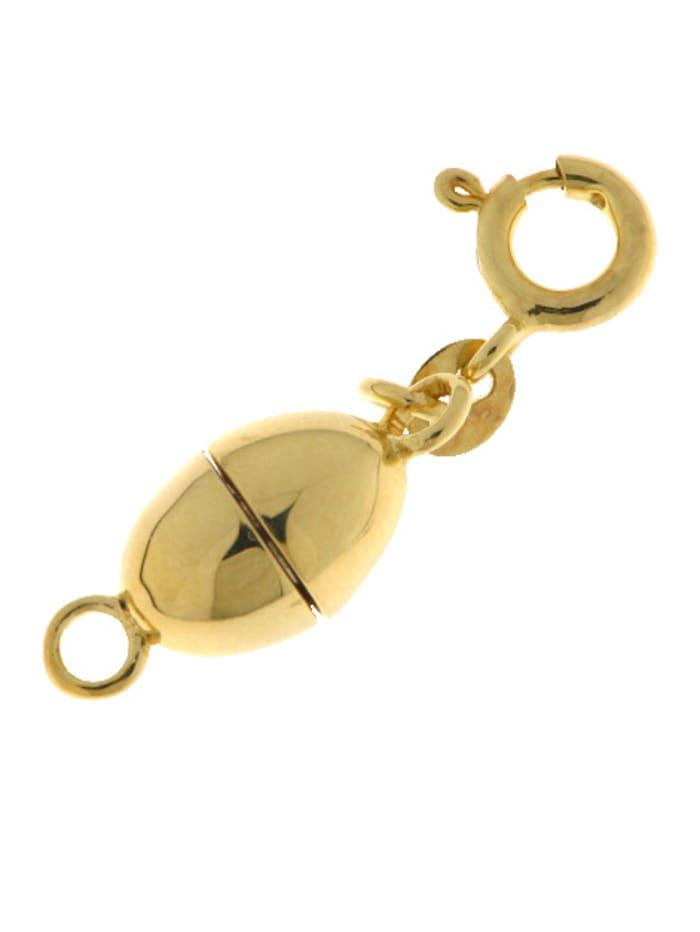 Grazielli Verlängerungskette in Silber 925, vergoldet, Gelbgoldfarben