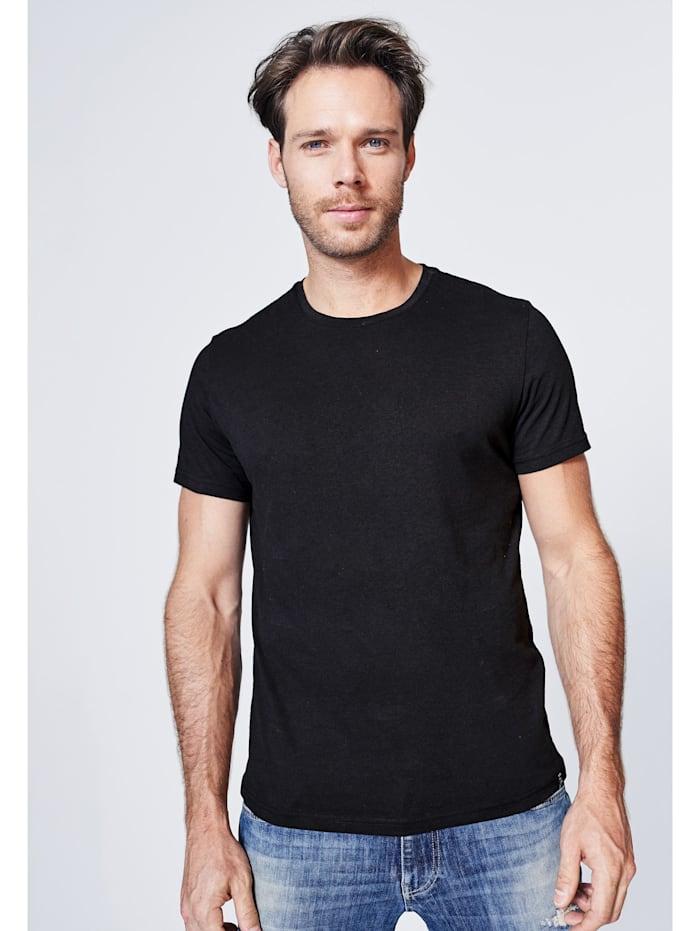 Harlem Soul T-Shirt mit Necktape, black