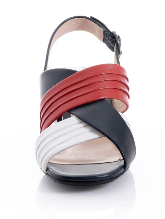 Sandalette aus Lammnappaleder