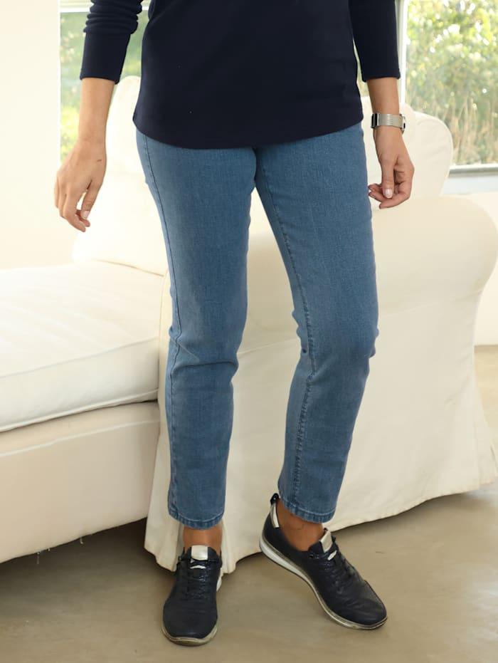 Paola Jeans met smalle pijpen, Light blue