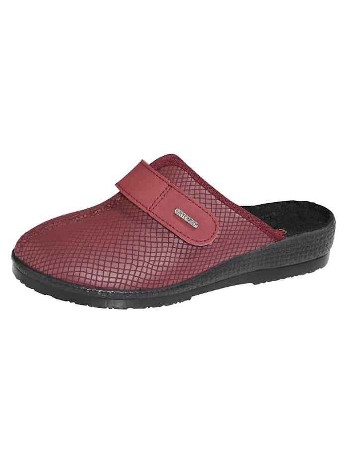 Belafit Nazouvací obuv z pohodlného strečového materiálu, Červená