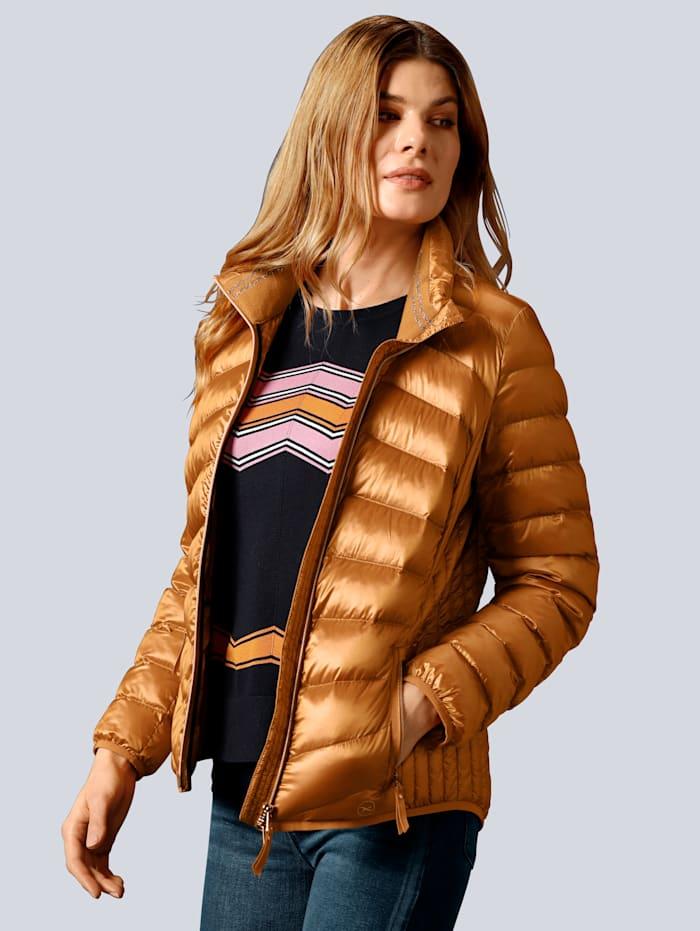 BRAX Jacke mit wärmender Wattierung, Camel
